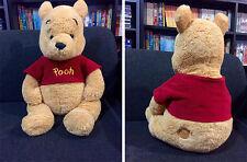 peluche orso winnie pooh marrone della disney circa 40 cm