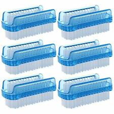 BTYMS 6 Pcs Dual Sided Nail Brush Fingernail Scrub Cleaning Brushes for Toes ...