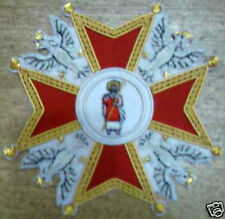 Poland Polish Russia Order Saint Stanislaus Stanislas Eagle Knight Merit Badge