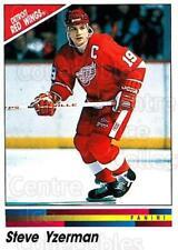 1990-91 Panini Stickers #208 Steve Yzerman