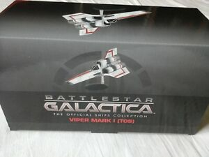 Eaglemoss Battlestar Galactica - Issue 4 - Viper Mark 1 New RARE