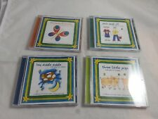 Jack and Jill Little Gems for Children Audio CD's Lot 4 Hey Diddle Diddle 3 Pigs