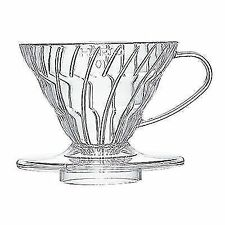 Hario V60 01 Cup Plastic Coffee Dripper Pour Over Cone Filter Brewer
