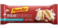 Powerbar Ride Energy Bar Box Con 18 Barrette da 55g Gusto Cocco-Caramello