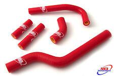 Suzuki se 250 2005-2006 05 06 Alto Rendimiento Silicona Mangueras Del Radiador Rojo