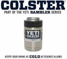 YETI Colster Rambler Cooler Beer Insulator Stainless Steel Can Koozie 12oz