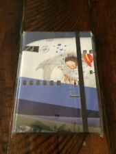 China airlines Note book Jimmy Illustration on 747 New RARE COLLECTOR ITEM