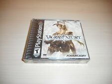 Vagrant Story Brand New Factory Sealed Playstation Game PS1 Black Label