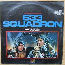 633 SQUADRON LP / ORIGINAL MOTION PICTURE SCORE ( FIRST PRESS VG / VG 1964 )