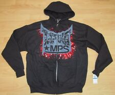 ORIGINAL TAPOUT MMA MPS UFC RED BLOOD SKULLS HOODIE JACKET MEN'S SIZE XL