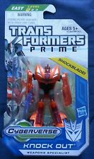 Transformers PRIME CYBERVERSE LEGION KNOCK OUT MOSC SEALED 2011