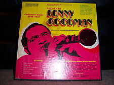 "Nostalgia CSM-890/1 Benny Goodman - Collectors' Gems 1929-1945 1960's 12"" 33 RPM"