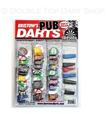 Harrows Dart Flights and Shafts / Stems on a Card - Ideal for Pubs and Clubs