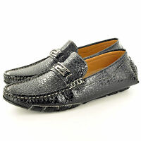 Hombre Informal Mocasines Sin Cordones Conducción Zapatos en RU Talla 7 8 9 10