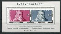 2105) SCHWEIZ 1948 - Block 13 ** IMABA BASEL