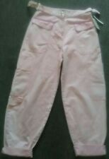 Bnwt ASOS Pink Cargo Trousers / Jeans Size 12