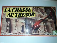 Jeu de société -  La chasse au trésor - Nathan complet 1982