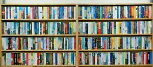 60 Fiction Paperback Books Very Good Condition