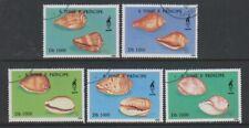 St Thomas & Prince Islands - 1996 Shells set - F/U