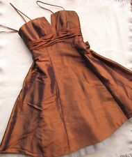 Kelsey Rose Special Occasion Party Dress UK Size 12 Colour Espresso New with tag