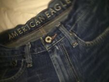 American Eagle AE Men's Jeans~Bootcut~Distressed~Whiskers 28 x 30~Very Nice