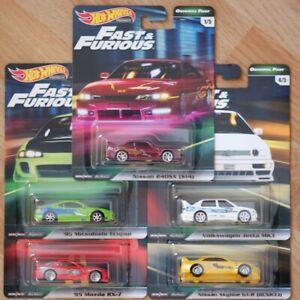 Hot Wheels Car Culture Original Fast Full Set of 5 Brand New Free Shipping GJP74