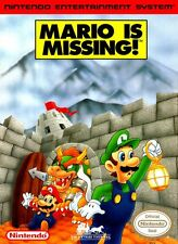 Mario is Missing! for NES (1993)