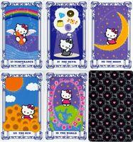 Hello Kitty Playing Tarot Cards Fortune-telling Card Book Sanrio Ryuji Kagami