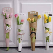 5pcs Creative Flower Box Portable Flower Box Wrapping Gift Flower Packaging NEW