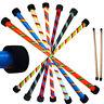 Flames N Games TWISTER Pro Devil Stick Set -Silicone Coated WOODEN Handsticks