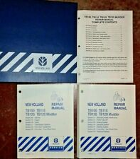 New Holland TB100 TB110 TB120 Tractor Service Repair Manual VERY GOOD ORIGINAL!