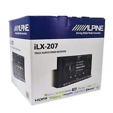Alpine ILX-207 2-DIN In-Dash Digital Media Bluetooth Receiver