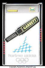 Olympic PINS TORINO 2006 GARRETT METAL DETECTOR SPONSOR