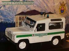 1/43 LAND ROVER DEFENDER VIGILI URBANI CITTA' RIVOLI (POLIZIA MUNICIPALE) CODE3