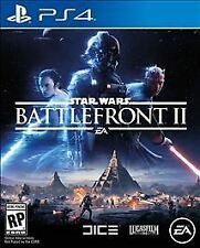 Star Wars: Battlefront II 2 (PlayStation 4, 2017) PS4, New & Sealed