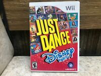 Just Dance: Disney Party (Nintendo Wii, 2012)  COMPLETE & TESTED FREE SHIPPING
