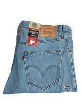 Levis Mens 505 Reg Straight 34X34 Light Wash 2008 New W Tags Denim Jeans