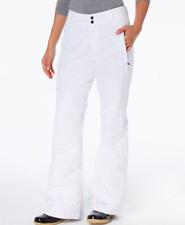 Columbia NWT Modern Mountain 2.0 Internal-Gaiter Snow Pants in WHITE, Sz L  FF05