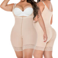 Firm Control Fajas Colombiana Post Surgery Powernet Body Shaper Hourglass Figure