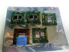 LOT OF 5 MIX INTEL CORE i3-350M & i3-380M & i3-370M & i3-2330M  LAPTOP CPU