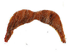 Brown Moustache Cowboy Wild West Ymca 70S Hippy Accessory Fancy Dress
