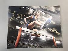 LOLO JONES USA OLYMPICS TRACK AND FIELD SUPERSTAR SIGNED 8X10 PHOTO WITH COA