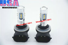 2x LED Headlights 50W LED Bulbs Lamps lFor 2009 2010 Polaris Ranger RZR 800 EFI
