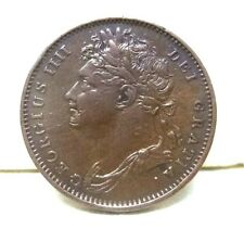 "1825 Great Britain Farthing King""GEORGE IIII""First Issue Farthing MINT ERROR'S!"