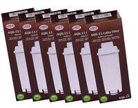 3 x filtro compatibile aqk-11 per DELONGHI ser3017 DLS c002 5513292811 10 Tabs