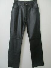 COPPER KEY BLACK LEATHER FULLY LINED PANTS SIZE 5