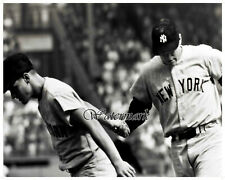 MLB 1960's Roger Maris Mickey Mantle New York Yankees 8 X 10 Photo Picture