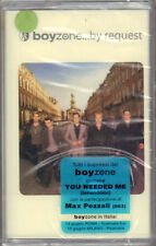 "BOYZONE "" BY REQUEST "" MUSICASSETTA SIGILLATA  ( K7 - MC)"