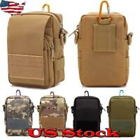 Tactical Shoulder Bag Messenger Sling Chest Pack Military Molle Outdoor Backpack