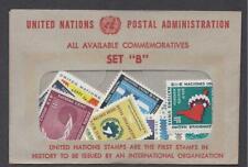 UN Stamps 1961-1963 NY Scott #93-103+#108-115 set of 19. MNH-VF
